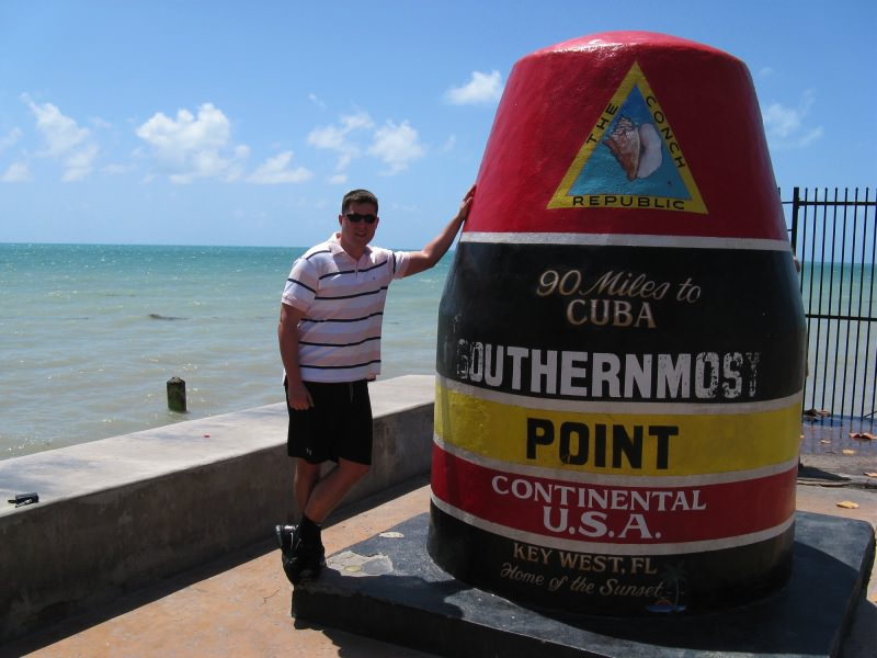 Am Southernmost Point in Key West