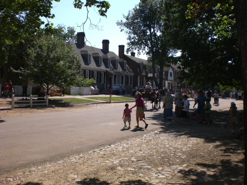 Hauptstrasse in Colonial Williamsburg