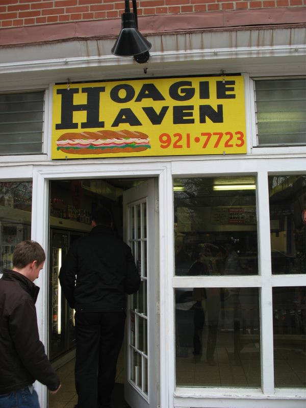 Hoagie Haven in Princeton, New Jersey